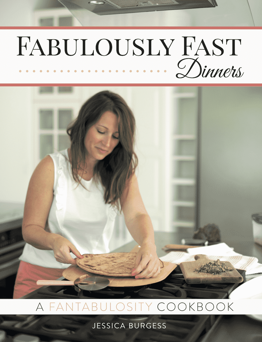 Fabulously Fast Dinners Cookbook Cover